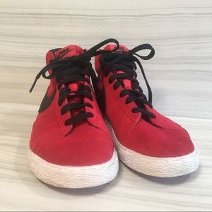 Nike Blazer Mid Retro Suede High Top - Size 3Y